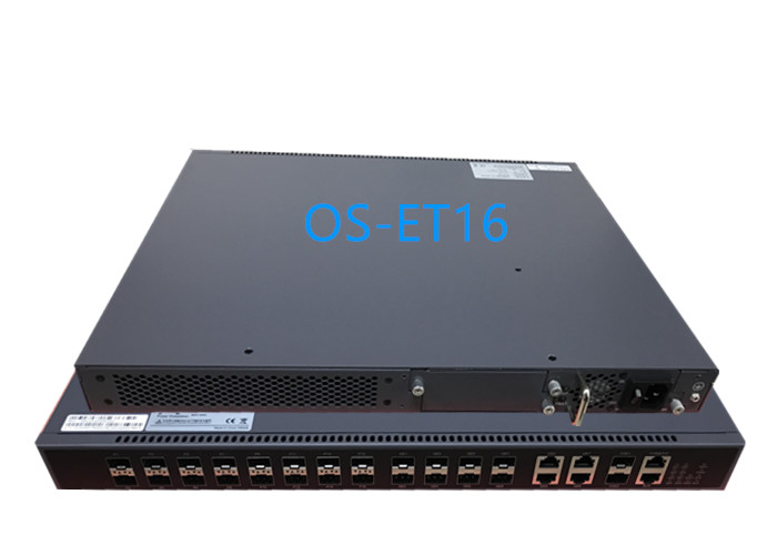 16 PON EPON OLT 1.25G TX 1490nm RX 1310nm for FTTX Solution with 2*10GE uplink