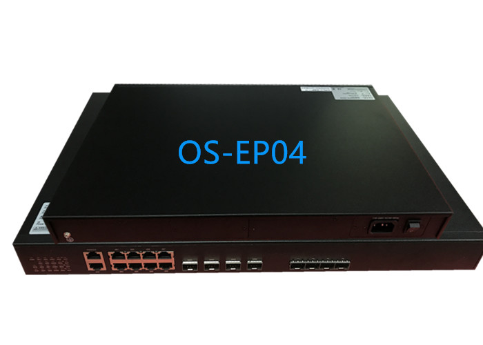 4 PON EPON OLT 1.25G TX 1490nm RX 1310nm for FTTX Solution with 4*10GE uplink
