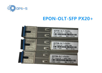 Hot - Pluggable EPON OLT SFP Module Single Mode 20km Transmission Distance
