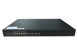 8 PON EPON OLT 1.25G TX 1490nm RX 1310nm for FTTX Solution with 10GE uplink