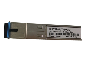 Hot - Pluggable EPON OLT SFP Module Single Mode 20km Transmission Distance - Fttx-xpon.com
